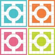 WallPops Chroma 4pc Calendar Set