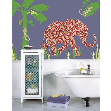 WallPops Mabuza the Elephant
