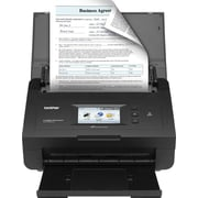 Brother ImageCenter ADS2500W Document Scanner, Black