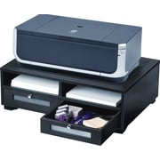 Victor® Wood Printer Stand, Midnight Black