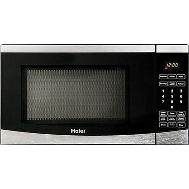 Haier .7 CU. FT. Counter Microwave, Stainless Steel