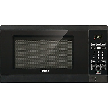 Haier .7 CU. FT. Counter Microwave, Black