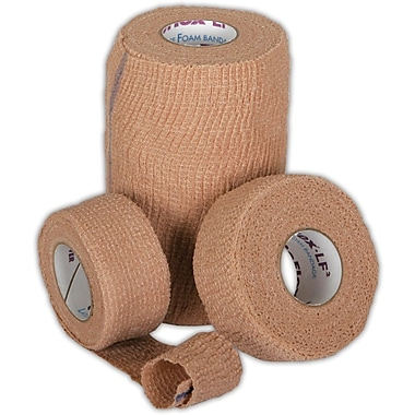 Co-Flex® LF2 Latex-free Non-sterile Cohesive Bandages, Tan, 5 yds L x 4in. W, 18/Pack