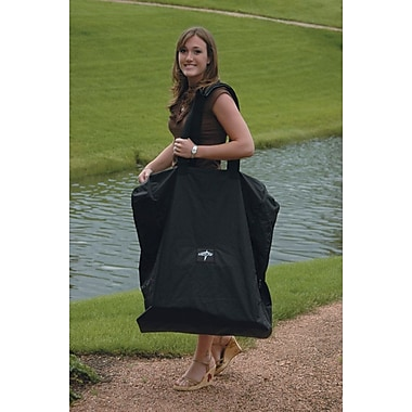 Medline Wheelchair Carrying Case, Black, Latex