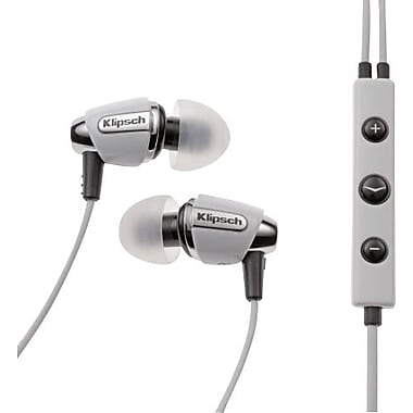 Klipsch Image S4i Earbud Headphones, White