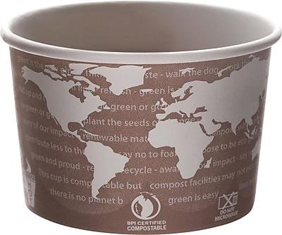 World Art Renewable & Compostable Soup Cups, 1000/Case 887666