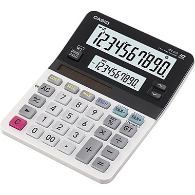 Casio® MV-120 10-Digit Display Calculator