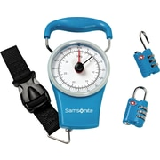 Samsonite Scale & Lock Kit, Teal