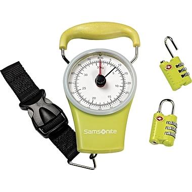 Samsonite Scale & Lock Kit, Lime Green