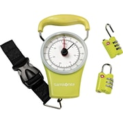 Samsonite Scale & Lock Kit, Lime Green
