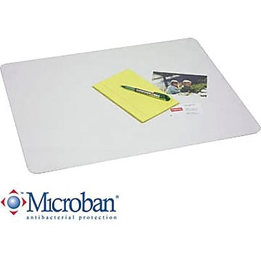 Artistic Krystal View™ Desk Pad with Microban, Clear, 19