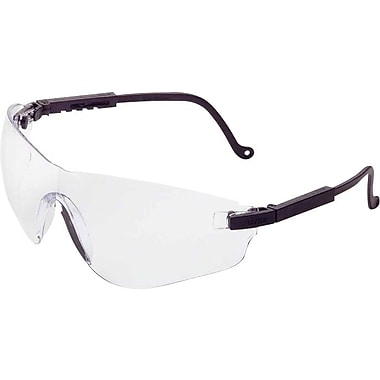 Falcon™ Eyewear, Polycarbonate, Anti-Fog, Clear,  Black
