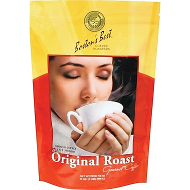 Boston's Best Ground Coffee, Original Roast, 2 lb. Bag