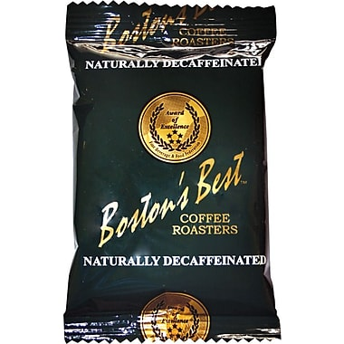 Boston's Best Ground Coffee, Naturally Decaffeinated, 2 oz., 40 Packets
