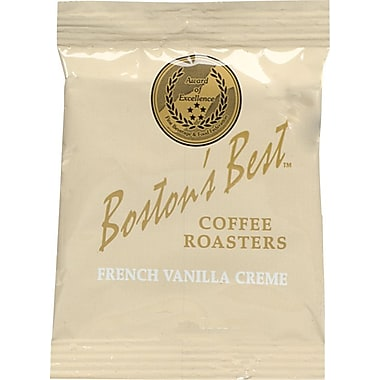 Boston's Best Ground Coffee, French Vanilla Creme, 2.5 oz., 40 Packets