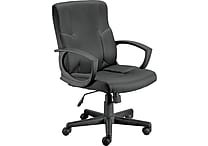 Staples Stiner™ Fabric Managers Chair, Black