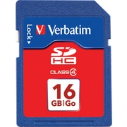 Verbatim 16GB SDHC(Class 4) Card Flash Memory Card