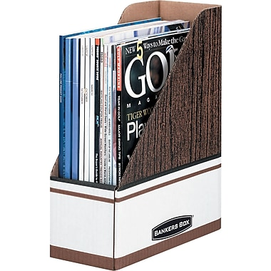 Bankers Box® Magazine File Holder, Oversized Letter Size