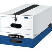 Bankers Box® Liberty® Plus Heavy-Duty Storage Boxes, Letter Size