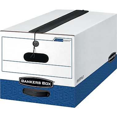 Bankers Box® Liberty® Plus Heavy-Duty Storage Boxes, Legal Size