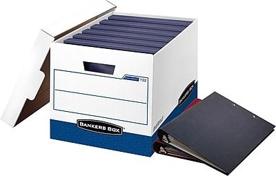 Bankers Box BinderBox Storage Boxes, 12/Pack 641816