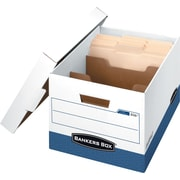 Bankers Box® R-Kive® DividerBox™ Heavy-Duty Storage Boxes, Letter Size w/Dividers