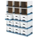 Bankers Box File/Cube™ Box Shell, 6/Pack