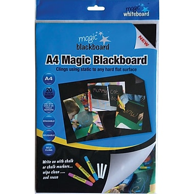 Magic Whiteboards Magic Whiteboard 20 Blackboard Sheets