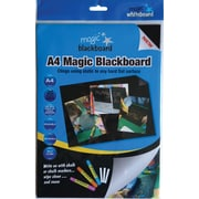 Magic Whiteboard™ Magic Blackboard, 1' x 1', Film Sheets (MW1224)