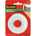 Scotch® Permanent Heavy Duty Mounting Tape, 1/2in. x 2.1 yds ,1in. Core
