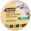 Scotch® Drafting Tape, 3/4in. x 60 yds, 3in. Core