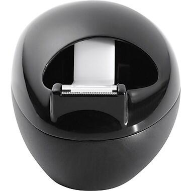 Scotch® Karim Design Pebble Desktop Tape Dispenser, Black