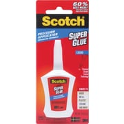 Scotch Super Glue Liquid in Precision Applicator, .14oz