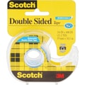 Scotch® Double Sided Removable Tape with Dispenser, 3/4in. x 400in., 1in. Core