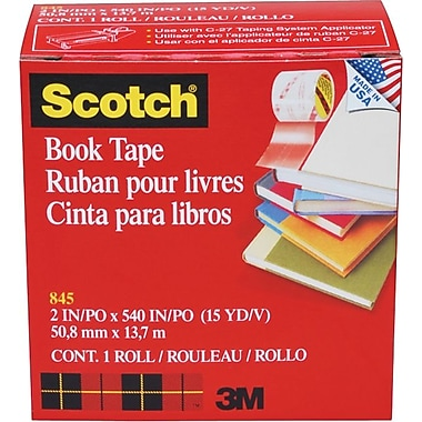 Scotch® Book Tape 845, 2
