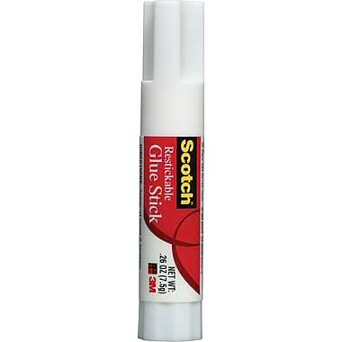 Scotch® Restickable Glue Stick, .26 oz