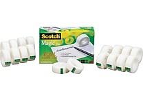 Scotch® Magic™ Tape 810, 3/4' x 27 yds, 1' Core, 18/Pack