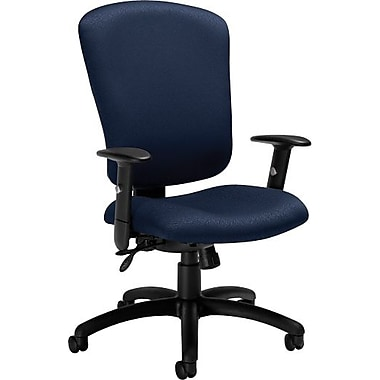 Global® Supra-X Manager's High-Back Multi-Tilter Chair, Midnight