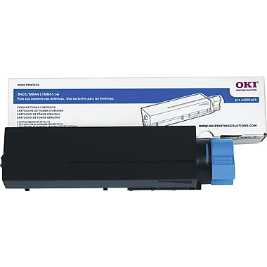 Okidata Black Toner Cartridge (44992405)