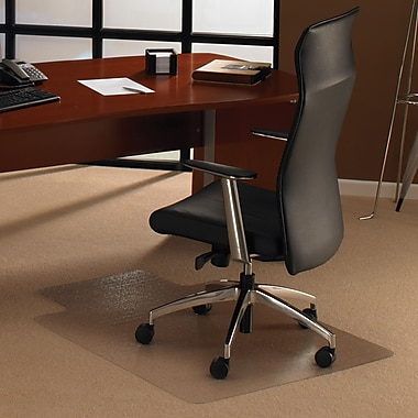 Floortex® ClearTex Ultimat® Polycarbonate Chair Mats for Plush Carpet