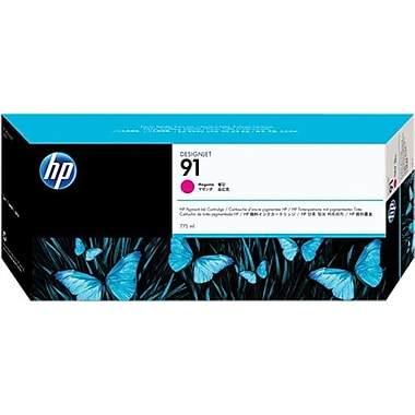 HP 91 Magenta Ink Cartridge (C9468A), 775ml