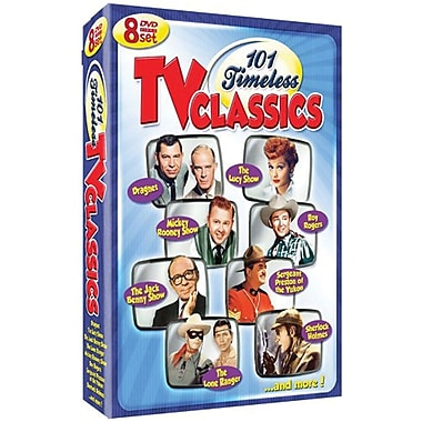101 Timeless TV Classics [8-Disc Set]