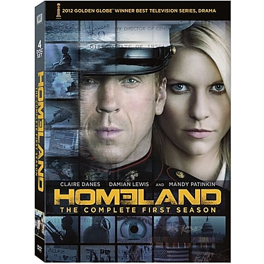 Homeland Season 1 [4-Disc Set]
