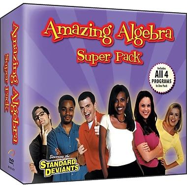 Pre-Algebra & Algebra (4 Pack)