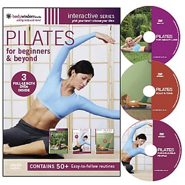 Pilates For Beginners & Beyond [3 Disc Set]
