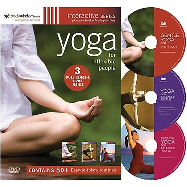 Yoga for Inflexible People [3 Disc Set]