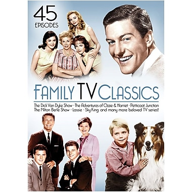Family TV Classics (45 Episodes) [4 Disc DVD Set]