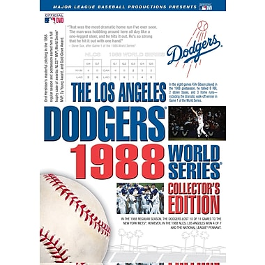 Los Angeles Dodgers 1988 World Series Collector's Edition DVD SET