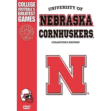 Nebraska Cornhuskers Greatest Games Collector's Edition DVD SET