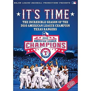 2010 Texas Rangers: It's Time! DVD